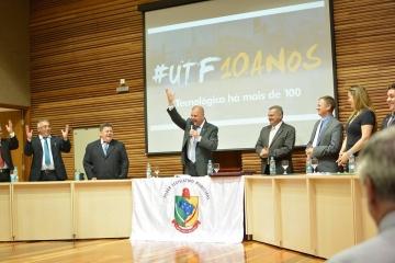 Sessão Solene em Homenagem aos 10 anos que o Cefet se tornou UTFPR Câmpus Medianeira