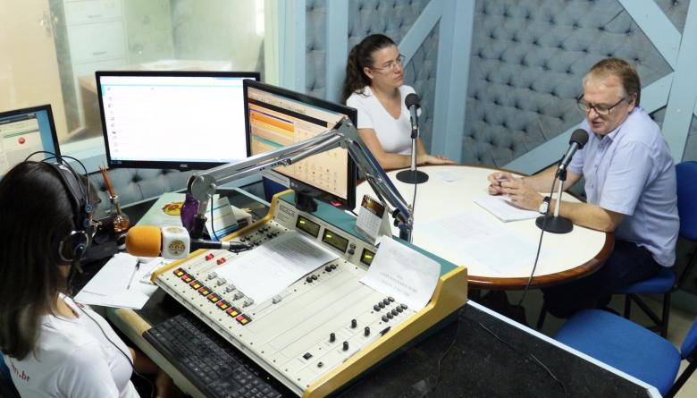 Câmara Municipal presta contas das atividades em manhã de entrevistas com o presidente