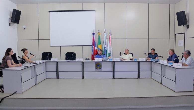 Comissões se reúnem com Conselho Municipal Previdência para tratar sobre projetos do Executivo