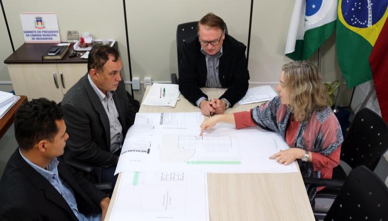Mesa Diretiva discute novas definições sobre projeto de construção da Sede própria