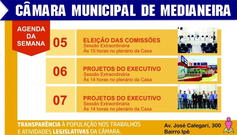 Presidente convoca Vereadores para sessões extraordinárias com deliberação de projetos do Executivo Municipal