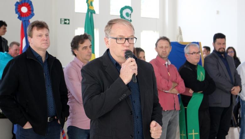 Presidente parabeniza reforma e ampliação do CCI e comenta sobre a importância de se investir no bem estar da população