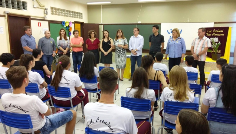 """Programa do Governo do Estado """"Escola 1000"""" contempla dois colégios do município"""