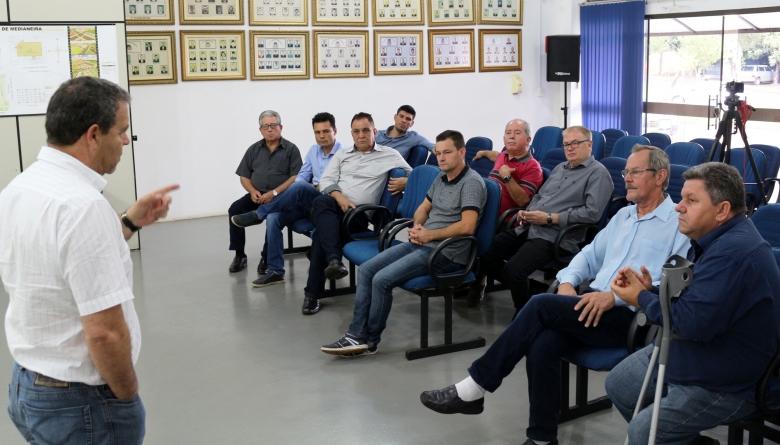 Vereadores se reúnem com órgãos competentes para discutir sobre questões relativas ao trânsito de Medianeira