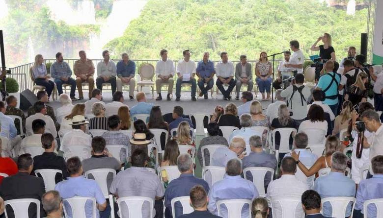 Vereador representa Câmara em evento de aniversário de 80 anos do Parque Nacional do Iguaçu