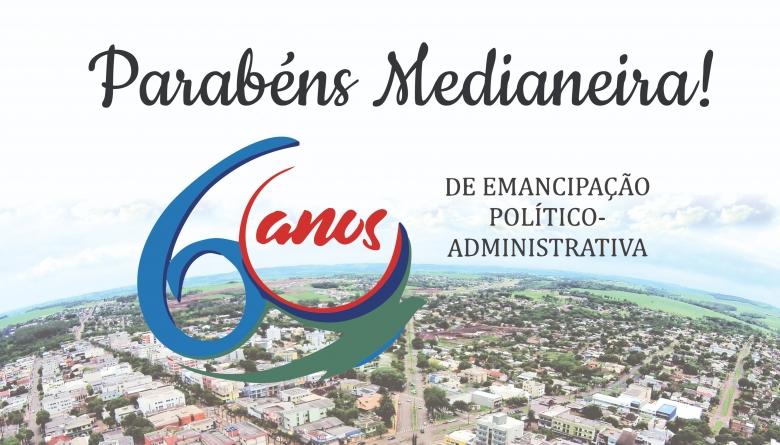 Viva Medianeira! 60 anos