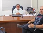 Valdecir Fernandes recebe visita de diretor do IPREMED