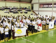 Abertura da fase municipal dos Jogos Escolares