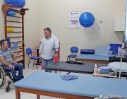 Presidente da Câmara visita Associação Medianeirense dos Deficientes Físicos