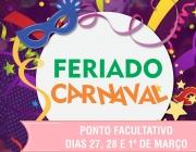 Câmara decreta recesso de Carnaval!