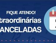 CÂMARA INFORMA: sessões extraordinárias dos dias 21 e 22 de setembro estão canceladas