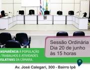 Câmara Municipal de Medianeira convoca Vereadores e convida população para participar da 18° Sessão Ordinária