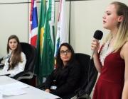 Câmara realiza primeira sessão especial ordinária do Parlamento Jovem