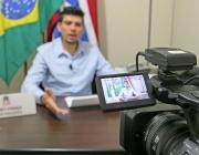 Convidado da vez, 1º vice-presidente concede entrevista ao programa do Kiko