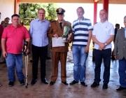 Corpo de Bombeiros de Medianeira recebe duas viaturas e uma auto ambulância em solenidade festiva de 105 anos de Corporação