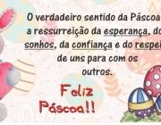 Desejamos a todos uma Feliz Páscoa!!