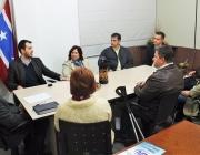 Diretoria da ACIME visita Câmara Municipal para estreitar laços e alinhar conversas sobre o desenvolvimento do município
