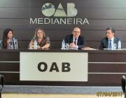 Em reunião OAB Medianeira requer Vara definitiva junto ao Tribunal Regional do Trabalho
