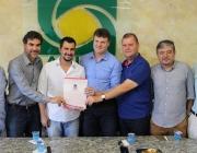 Legislativo prestigia lançamento de unidade SENAI em encontro na Acime