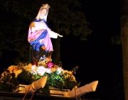 Medianeira realiza procissão com terço luminoso em honra à padroeira