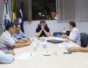 Mesa Diretiva se reúne com prefeito para discutir possibilidade de construção da Sede própria