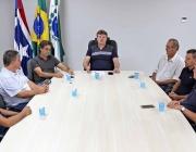 Mesa Diretora reafirma harmonia entre os poderes durante visita ao prefeito e vice de Medianeira