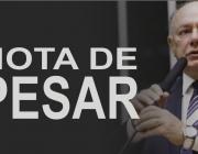 Nota de pesar - deputado federal José Carlos Schiavinato