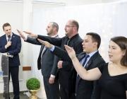 Nova diretoria da JCI Medianeira toma posse