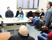 Pastores do Copem dão a benção para vereadores e servidores em nome da população de Medianeira