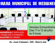 Pauta da 11ª e 12ª Sessão Plenária Deliberativa Extraordinária, da 4ª Sessão Legislativa, da 13ª Legislatura. Em 11 e 12 de julho de 2016, às 9 horas