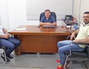 Presidente da Casa recebe visita de presidente da Câmara de Itaipulândia e de ex-vereador