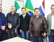 Presidente da Câmara dos Vereadores de Serranópolis do Iguaçu visita Legislativo de Medianeira