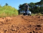 Presidente da Comissão de Obras vistoria condição de estradas do interior