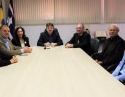 Presidente da UOPPECAN Cascavel visita Medianeira para firmar doação do mamógrafo e decidir local de instalação