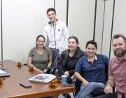 Presidência recebe visita de voluntários da Associação Filantrópica Social e Cultural Pró-Vida