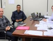 Representantes da CEVAN/PMPR se reúnem com presidente da Casa