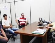 Representantes da Linha Ouro Verde visitam Legislativo e falam com Presidente