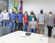 Rosangela apresenta balanço da Secretaria Municipal de Saúde aos vereadores