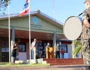 TG de Medianeira realiza formatura em homenagem ao Dia do Exército
