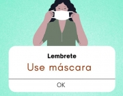 Use máscara, mantenha o distanciamento, higienize bem as mãos e use álcool em gel