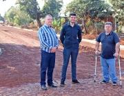 Vereadores da Mesa fiscalizam condução das obras de pavimentação no Belo Horizonte