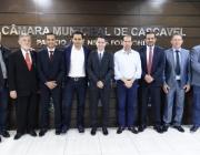 Vereadores da Mesa prestigiam posse da nova diretoria da ACAMOP