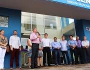 Vereadores participam de inauguração da Unidade Básica de Saúde Centro
