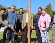 Vereadores participam de plantio de árvores nativas em frente ao Novo Paço Municipal