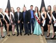 Vereadores prestigiam apresentação de candidatas à Miss Medianeira