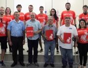 Vereadores recebem equipe de robótica da UTFPR Medianeira que participou de importante competição nos Estados Unidos