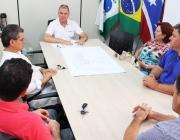 Vereadores se reúnem para tratar das Comissões Permanentes e de Projetos sobre reajuste salarial
