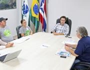 Vereador se reúne com vice-prefeito, Assama e Itaipu para discutir interesse acerca de novos convênios
