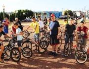 XVII Passeio Ciclistico reúne amigos e familiares com recorde de inscrições
