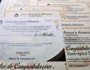 XXIV Sessão Ordinária será realizada com entrega de honrarias